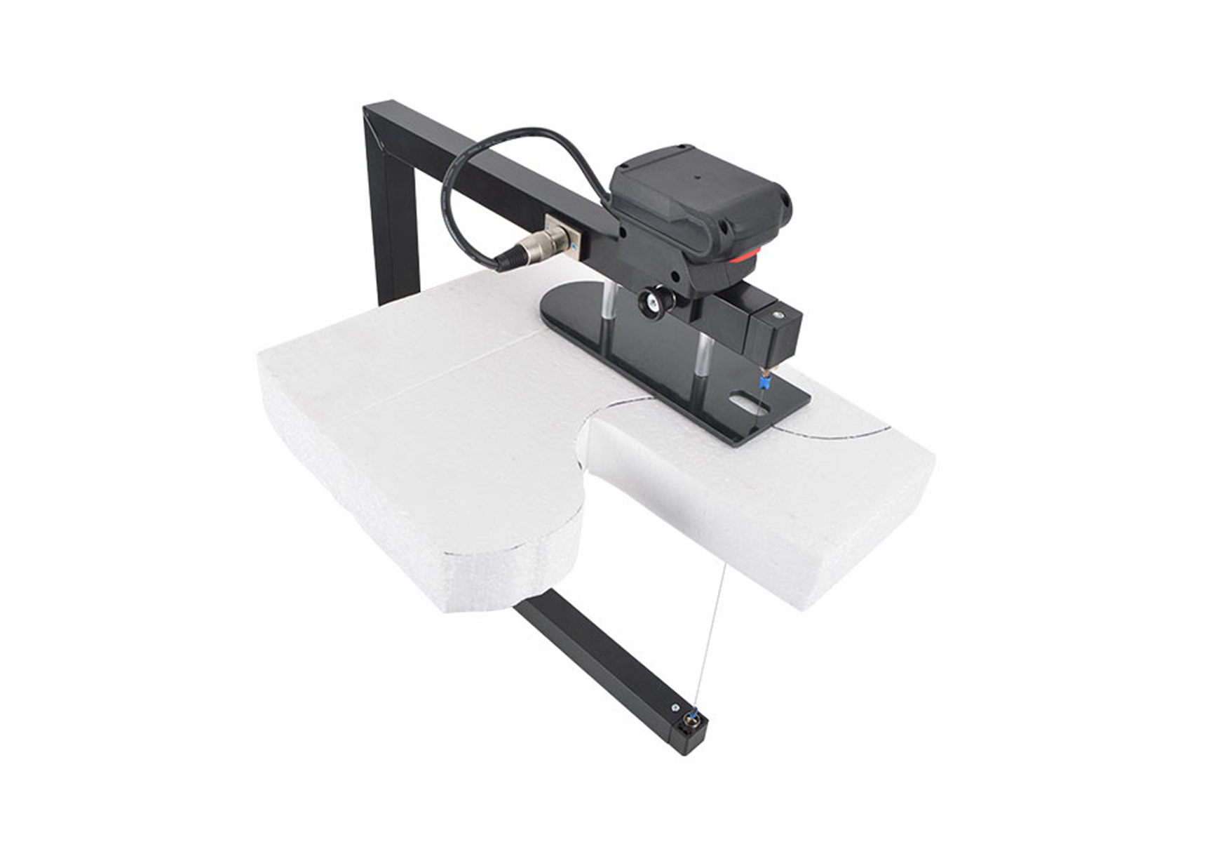 Hot wire foam cutter bow